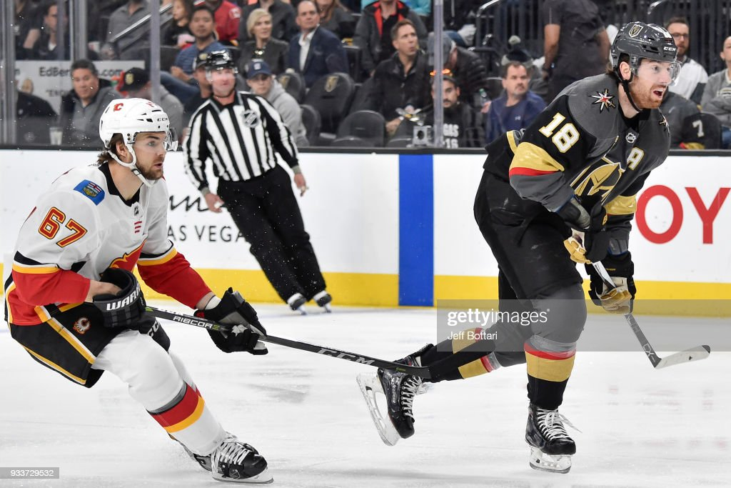 Calgary Flames v Vegas Golden Knights