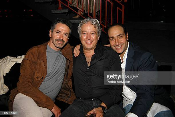Michael Fuchs Aby Rosen and Alberto Mugrabi attend ABY ROSEN Birthday Celebration at Chinatown Brasserie on May 15 2006 in New York City