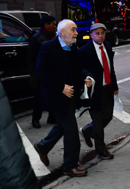 Michael G Wilson is seen outside good morning america on December 4 2019 in New York City
