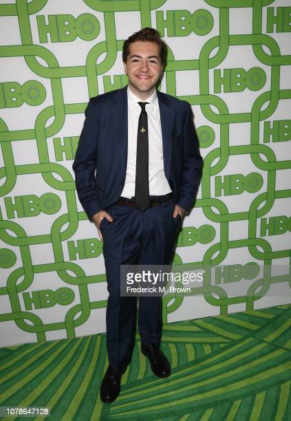 Michael Gandolfini attends HBO's Official Golden Globe Awards After Party at Circa 55 Restaurant on January 6 2019 in Los Angeles California