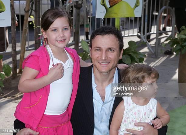 Michael Gelman and daughters Jamie Gelman and Misha Gelman