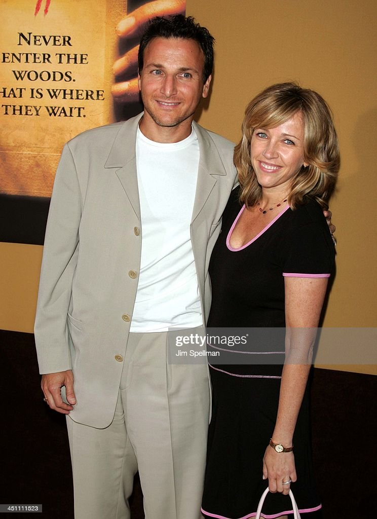 Michael Gelman and wife Laurie during The Village New York Premiere - Arrivals at Prospect Park in New York City, New York, United States.