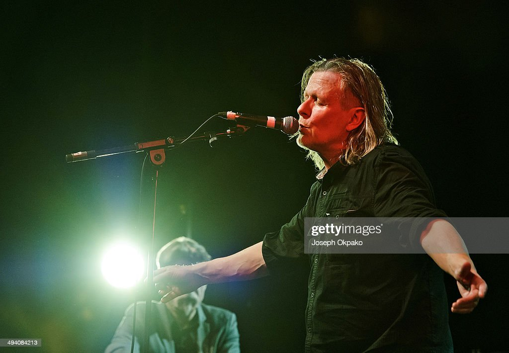 Michael Gira of Swans performs on stage at Electric Brixton on May 27, 2014 in London, United Kingdom.