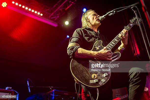 Michael Gira of Swans performs on stage at Glasgow Art School on May 23, 2015 in Glasgow, United Kingdom