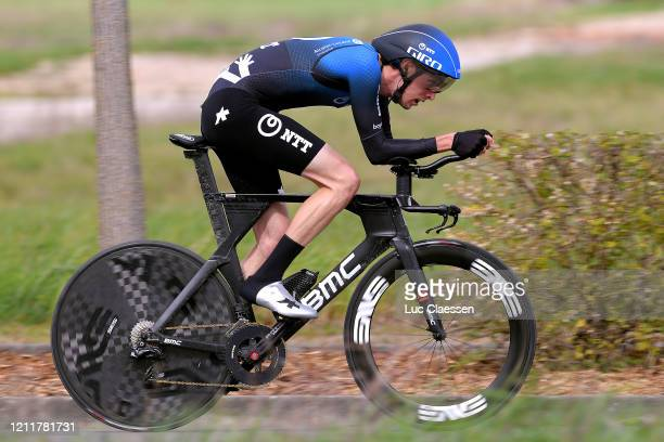 Michael Gogl of Austria and NTT Pro Cycling Team / during the 78th Paris Nice 2020 Stage 4 a 151km Individual Time Trial from SaintAmandMontrond to...