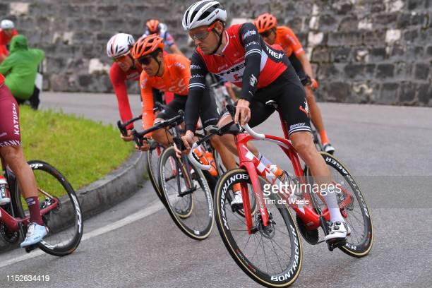 Michael Gogl of Austria and Team Trek - Segafredo / during the 102nd Giro d'Italia 2019, Stage 18 a 222km stage from Valdaora to Santa Maria di Sala...