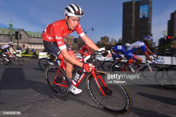 Michael Gogl of Austria and Team Trek Segafredo / during the 9th Grand Prix Cycliste de Montreal 2018 a 1952km race from Montreal to Montreal 79m /...