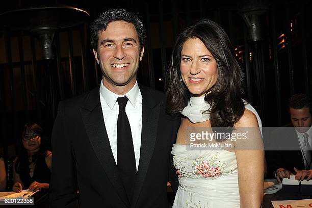 Michael Govan and Katherine Ross attend LACMA Opening Celebration of the Broad Contemporary Art Museum BCAM Inside at LACMA on February 9 2008 in Los...