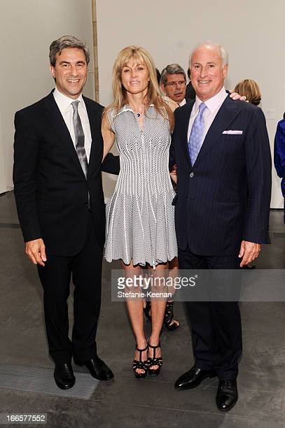 Michael Govan Kaayla Cevan and Steve Roth attend LACMA's 2013 Collectors Committee Gala Dinner at LACMA on April 13 2013 in Los Angeles California
