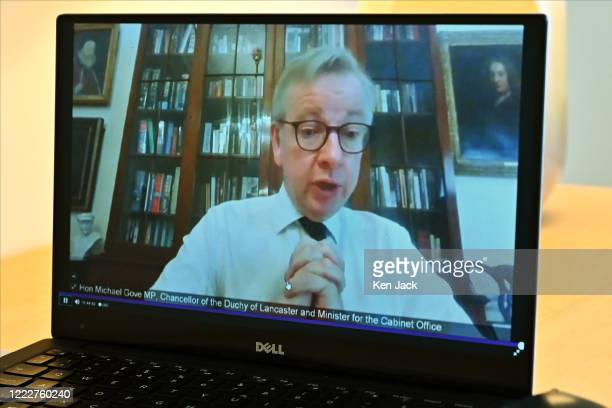 Michael Gove MP, Chancellor of the Duchy of Lancaster and Minister for the Cabinet Office in the UK Government, gives evidence to the Scottish...