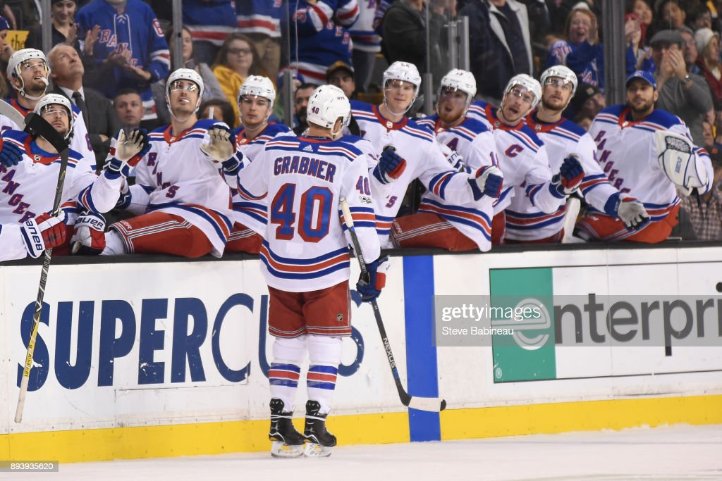 New York Rangers v Boston Bruins