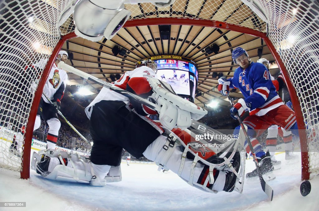 Ottawa Senators v New York Rangers - Game Four