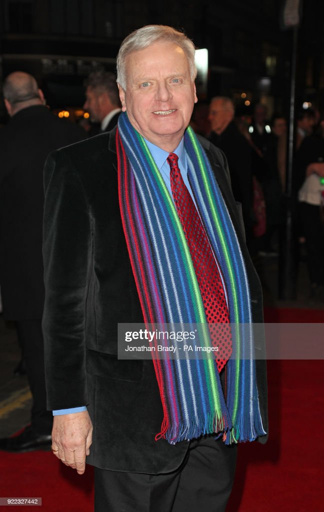 Michael Grade arrives at the BBC event Bruce: A Celebration at the London Palladium, which will honour the life of the late entertainer Sir Bruce Forsyth.