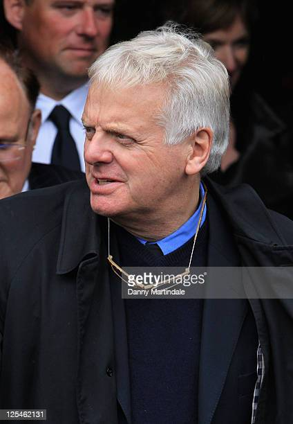 Michael Grade attends the funeral of Norman Wisdom at St George's Church on October 22 2010 in Douglas Isle Of Man