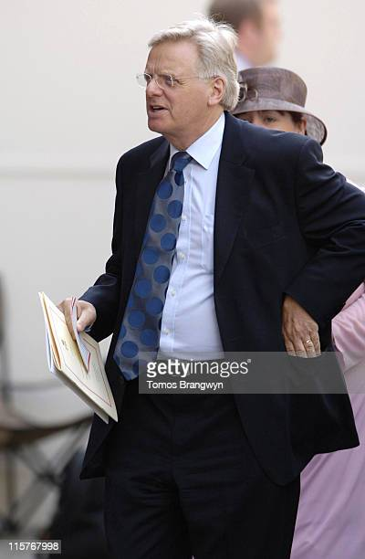 Michael Grade during The Queen's 80th Birthday Lunch Arrivals at Mansion House in London Great Britain