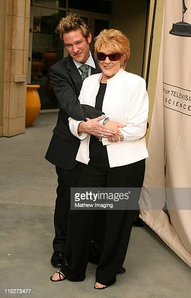 Michael Graziadei and Jeanne Cooper during The 33rd Annual Daytime Creative Arts Emmy Awards in Los Angeles - Arrivals at The Grand Ballroom at...