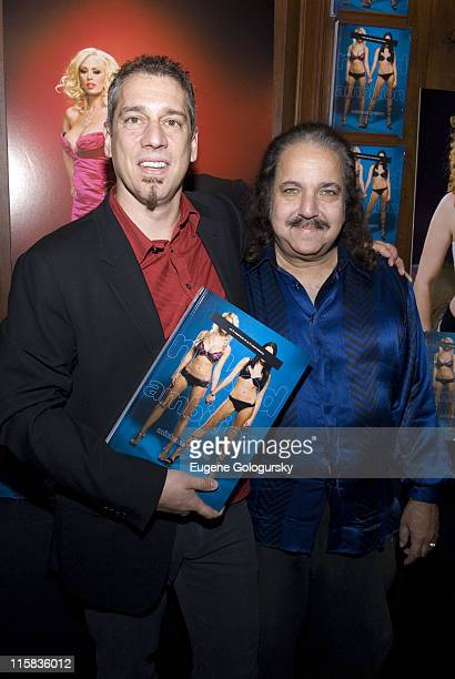 Michael Grecco and Ron Jeremy at The Michael Grecco Book Signing of his New Book Naked Ambition at Rizzoli on November 27 2007 in New York