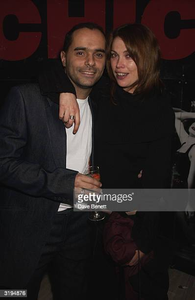 Michael Greco with Star Newspaper Columnist Mel at a Party to celebrateMichael joining the cast of the musical Chicago as Billy Flynn at Navaha Jo's...