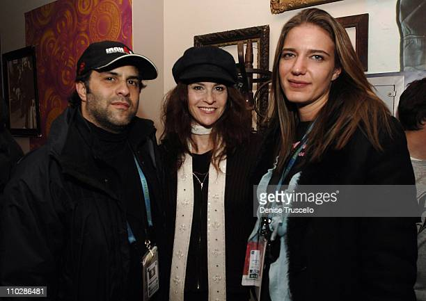 Michael Greenwald Ally Sheedy and Rachel Sheedy at 'Stephanie Daley' Premiere Party and Levi's Dry Goods
