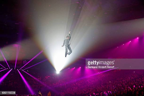Michael Gregorio performs for his 10 years of Career at AccorHotels Arena on December 16 2016 in Paris France