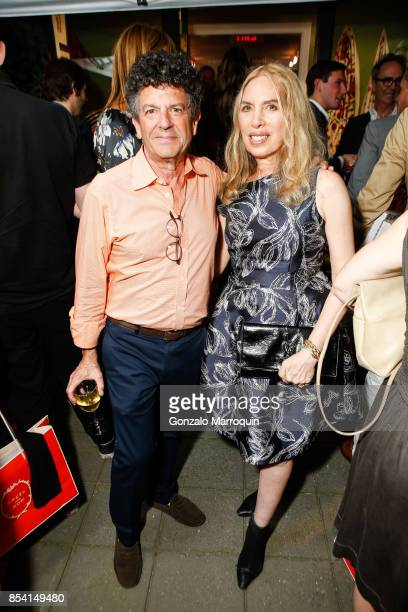 Michael Gross and Lauren Lawrence attend the Creel and Gow hosts 'Haute Bohemians' book signing with Miguel FloresVianna and Amy Astley on September...