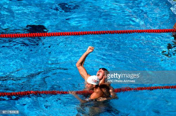 Michael Gross Men's swimming 200 metre freestyle competition McDonald's Olympic Swim Stadium at the 1984 Summer Olympics July 29 1984