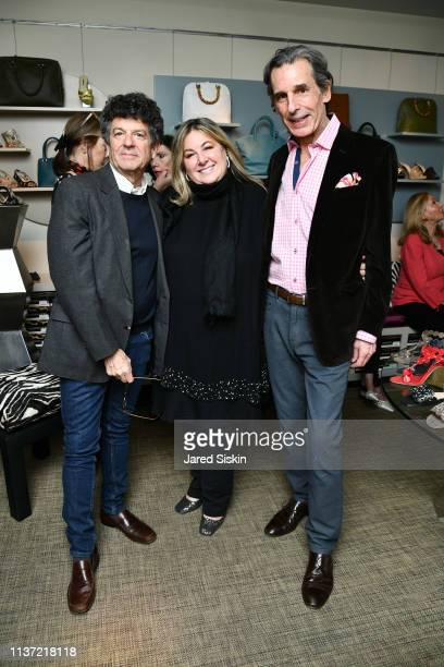 Michael Gross Vanessa Noel and Roy Kean attend at Vanessa Noel Couture on March 20 2019 at Vanessa Noel in New York City