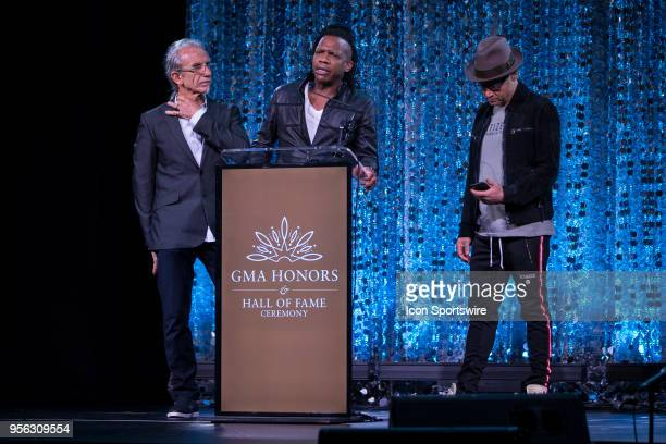 Michael Guido Tait And TobyMac During The 5th Annual 2018 GMA Honors Hall Of Fame