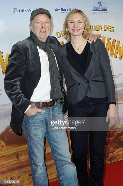 Michael Gwisdek and Rosalie Thomass attends 'Tom Sawyer Huckleberry Finn' Germany Premiere at Kino in der KulturBrauerei on December 16 2012 in...