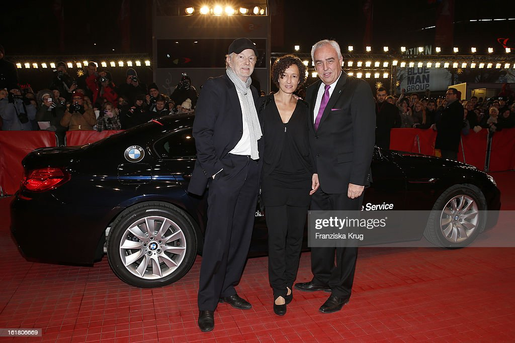 Michael Gwisdek, Gabriela Gwisdek and Hans Reiner Schroeder attend the Closing Ceremony Red Carpet Arrivals - BMW At The 63rd Berlinale International Film Festival at Berlinale-Palast on February 16, 2013 in Berlin, Germany.