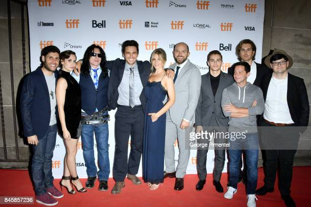 Michael H Weber Alison Brie Tommy Wiseau James Franco Ari Graynor Paul Scheer Dave Franco Scott Neustadter Greg Sestero and Peter Kuplowsky attends...