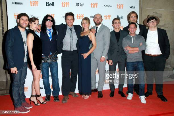 Michael H Weber Alison Brie Tommy Wiseau James Franco Ari Graynor Paul Scheer Dave Franco Scott Neustadter Greg Sestero and Peter Kuplowsky attend...