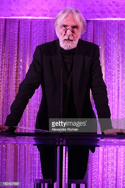 Michael Haneke at The Oscars Foreign Language Film Award Directors Reception held at the Academy of Motion Picture Arts and Sciences on February 22...