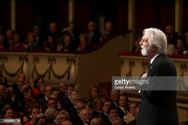 Michael Haneke attends the 'Prince of Asturias Awards 2013' ceremony at the Campoamor Theater on October 25 2013 in Oviedo Spain