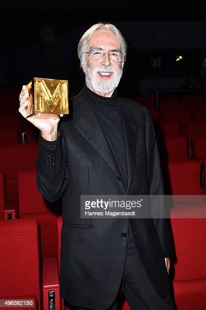 Michael Haneke during the 5th German Director Award Metropolis at HFF on November 8 2015 in Munich Germany