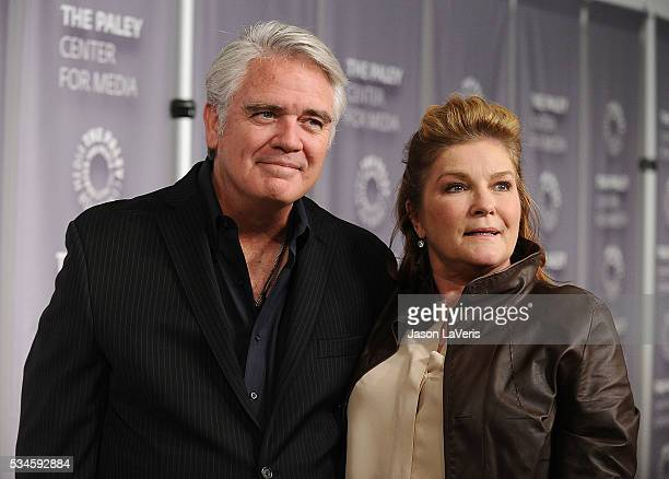 Michael Harney and Kate Mulgrew attend an evening with 'Orange Is The New Black' at The Paley Center for Media on May 26 2016 in Beverly Hills...