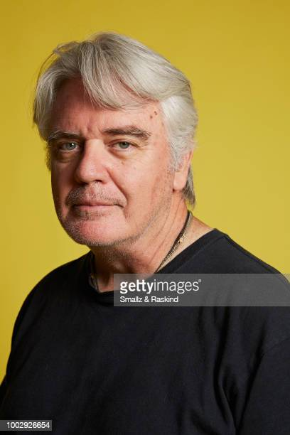 Michael Harney from 'Space Command' poses for a portrait at the Getty Images Portrait Studio powered by Pizza Hut at San Diego 2018 Comic Con at...