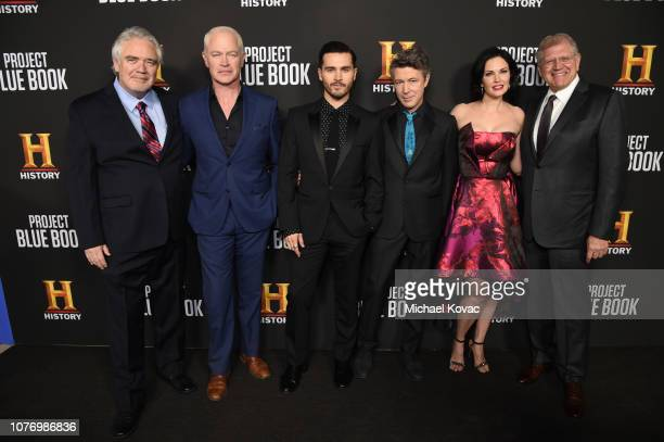 Michael Harney Neal McDonough Michael Malarkey Aidan Gillen Laura Mennell and Robert Zemeckis attend the LA premiere party for HISTORY's new drama...