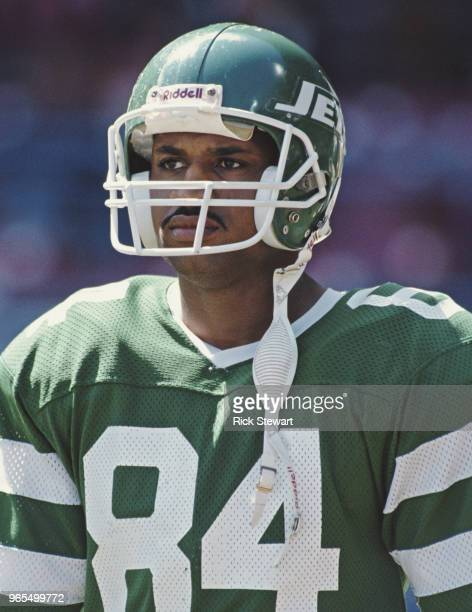 Michael Harper Wide Receiver for the New York Jets during the American Football Conference Central game against the Cleveland Browns on 17 September...