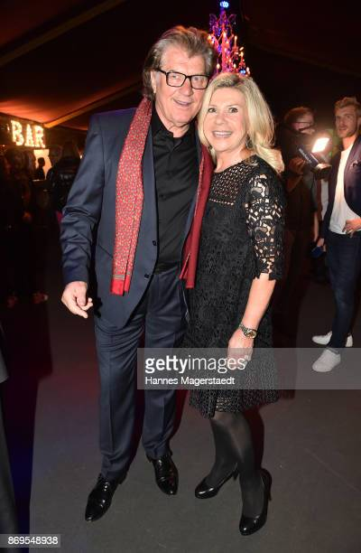 Michael Hartl and his wife Marianne Hartl during the 'Fantasia' VIP premiere of Schubecks Teatro at Spiegelzelt on November 2 2017 in Munich Germany