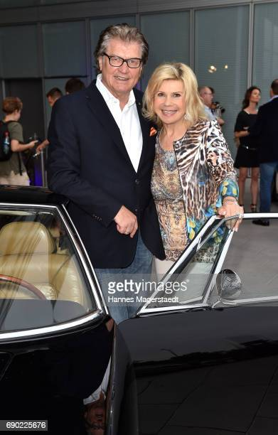 Michael Hartl and Marianne Hartl during the Maserati Showroom Opening on May 30 2017 in Munich Germany