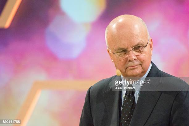 Michael Hayden former Director of the CIA and NSA speaks at 'Nobel Week Dialogue the Future of Truth' conference at at Svenska Massan on December 9...