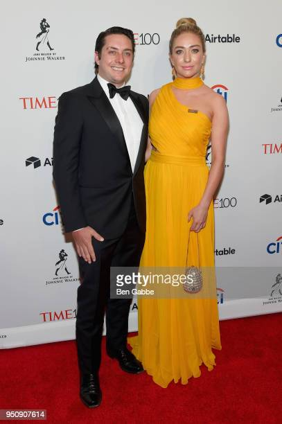 Michael Heard and Bumble CEO Whitney Wolfe Herd attend the 2018 Time 100 Gala at Jazz at Lincoln Center on April 24, 2018 in New York City.