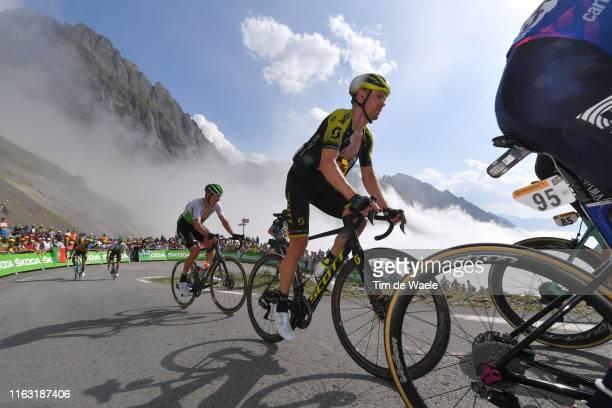 Michael Hepburn of Australia and Team Mitchelton-Scott / Col de Tourmalet / Mountains / Fans / Public / during the 106th Tour de France 2019, Stage...