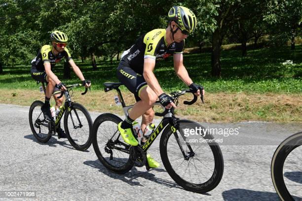 Michael Hepburn of Australia and Team Mitchelton-Scott / Damien Howson of Australia and Team Mitchelton-Scott / during the 105th Tour de France 2018,...
