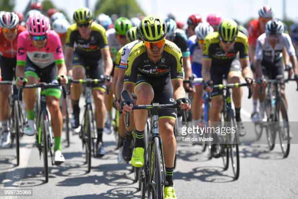 Michael Hepburn of Australia and Team MitcheltonScott / during the 105th Tour de France 2018 Stage 9 a 1565 stage from Arras Citadelle to Roubaix on...