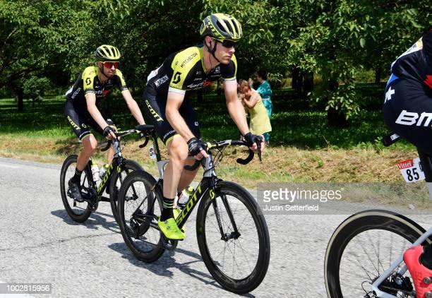 Michael Hepburn of Australia / Damien Howson of Australia / Team Mitchelton-Scott of Australia / during the 105th Tour de France 2018, Stage 13 a...