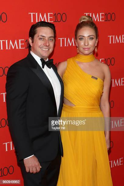 Michael Herd and Whitney Wolfe Herd attend the 2018 Time 100 Gala at Frederick P. Rose Hall, Jazz at Lincoln Center on April 24, 2018 in New York...