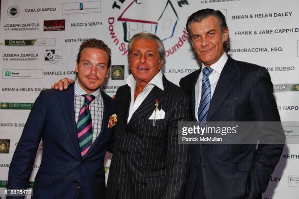 Michael Herklots Gianni Russo and Alfredo Pecora attend Gianni Russo Honors the Supporters of TERI'S HOUSE at Rothmann's Steakhouse on April 12th...