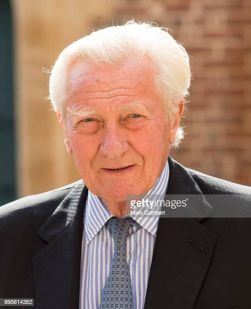 Michael Heseltine attends Evensong in celebration of the centenary of the Order of the Companions of Honour at Hampton Court Palace on June 13 2017...